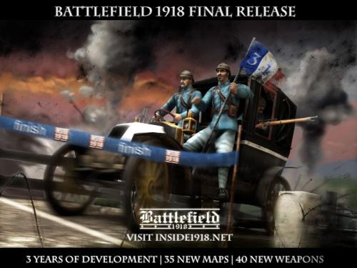 Battlefield 1918's Final Release